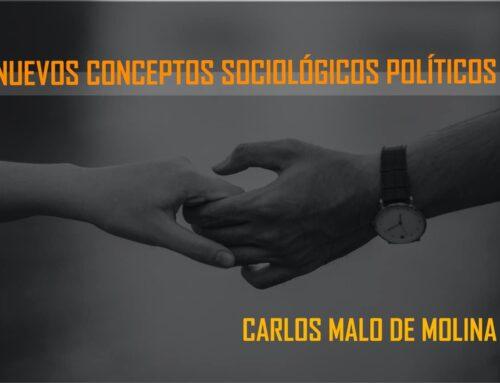 Nuevos conceptos sociológicos político